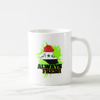 Always Fresh Iraq Coffee Mugs
