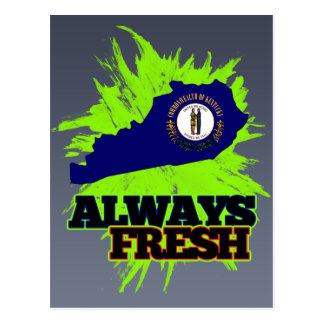 Always Fresh Kentucky Postcard