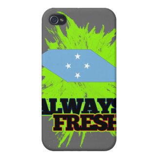 Always Fresh Micronesia iPhone 4 Cases