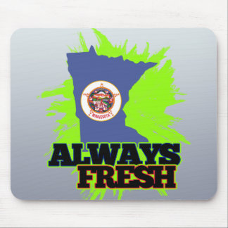 Always Fresh Minnesota Mouse Pad