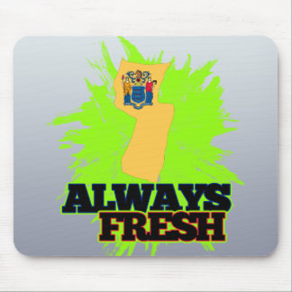 Always Fresh New Jersey Mouse Pad