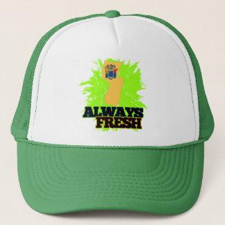 Always Fresh New Jersey Trucker Hat