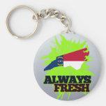 Always Fresh North Carolina Keychains