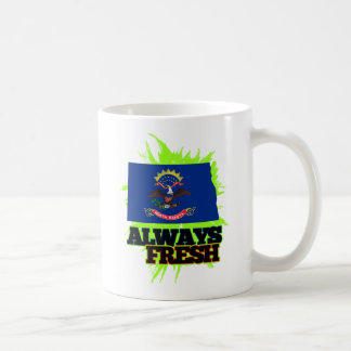 Always Fresh North Dakota Coffee Mug