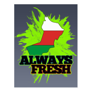 Always Fresh Oman Postcard