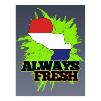 Always Fresh Paraguay Postcard
