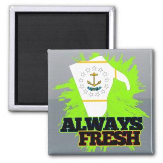 Always Fresh Rhode Island Fridge Magnet