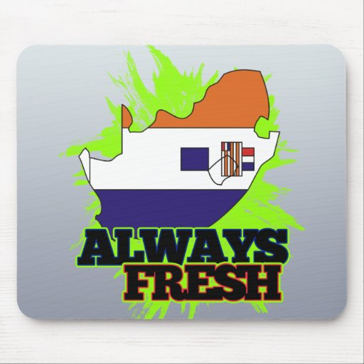 Always Fresh South Africa Mouse Pad