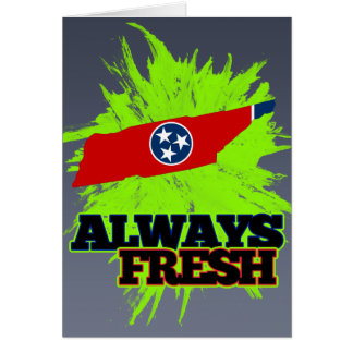 Always Fresh Tennessee Card