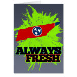 Always Fresh Tennessee Greeting Cards