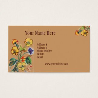 Always Fresh Yellow Flowers Card