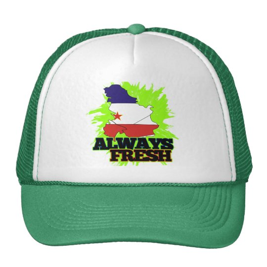 Always Fresh Yugoslavia Trucker Hat
