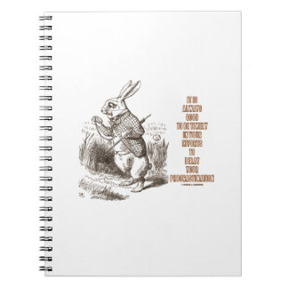 Always Good Timely Efforts Delay Procrastination Spiral Notebook