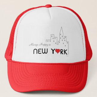 Always Happy in New York Trucker Hat