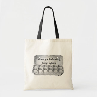 Always Hatching New Ideas Tote bag