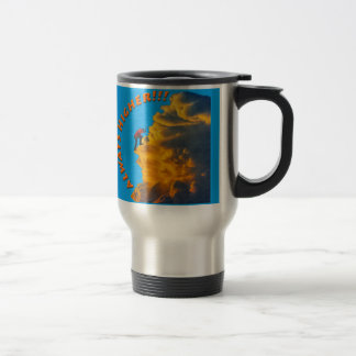 Always Higher Inspirational Design Travel Mug