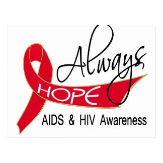 Always Hope AIDS Postcard