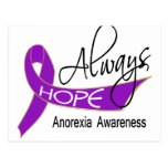 Always Hope Anorexia Postcard