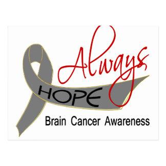 Always Hope Brain Cancer Postcard