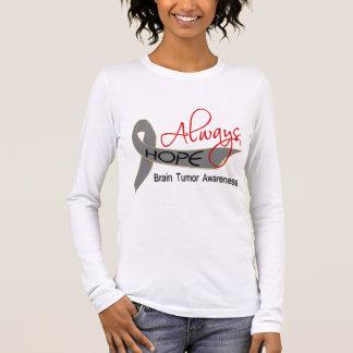Always Hope Brain Tumor Long Sleeve T-Shirt