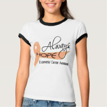 Always Hope Endometrial Cancer T-Shirt
