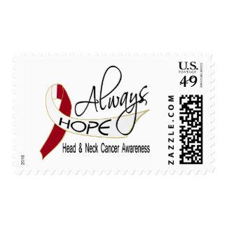 Always Hope Head Neck Cancer Postage