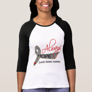 Always Hope Juvenile Diabetes Tee Shirt