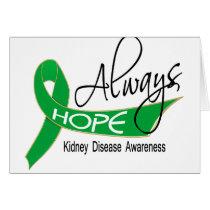 Always Hope Kidney Disease Card