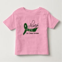 Always Hope Liver Disease Toddler T-shirt