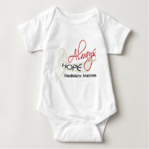 Always Hope Mesothelioma Baby Bodysuit