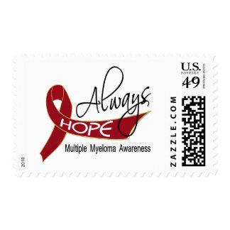 Always Hope Multiple Myeloma Postage Stamp