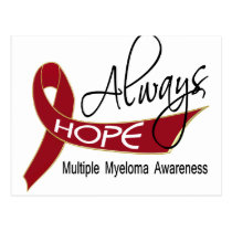 Always Hope Multiple Myeloma Postcard