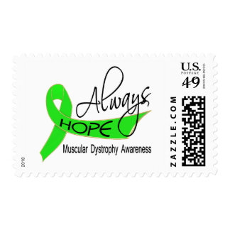 Always Hope Muscular Dystrophy Stamps