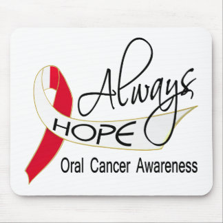 Always Hope Oral Cancer Mousepad
