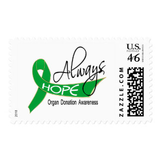 Always Hope Organ Donation Stamp