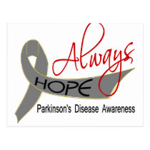 Always Hope Parkinson's Disease Postcard
