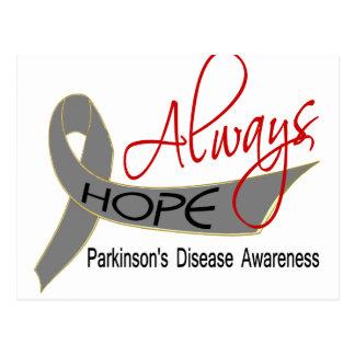 Always Hope Parkinson's Disease Postcard