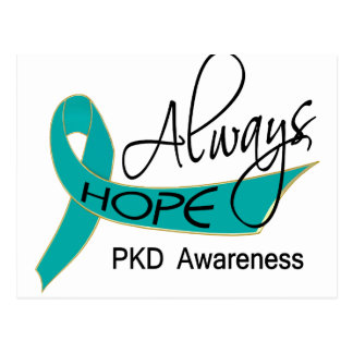 Always Hope PKD Postcard