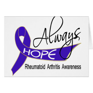 Always Hope Rheumatoid Arthritis Greeting Card