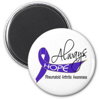 Always Hope Rheumatoid Arthritis Magnet