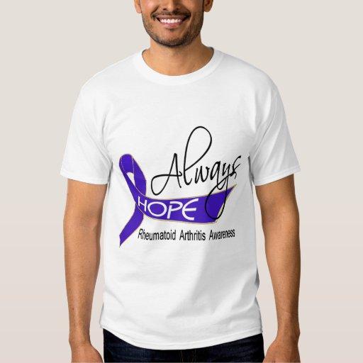 Always Hope Rheumatoid Arthritis Tees