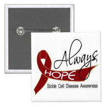 Always Hope Sickle Cell Disease Button