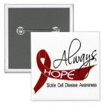 Always Hope Sickle Cell Disease Pins