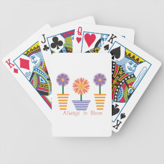 Always in Bloom Bicycle Playing Cards