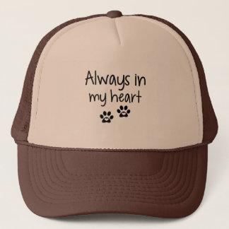 Always in my heart Hat (black)