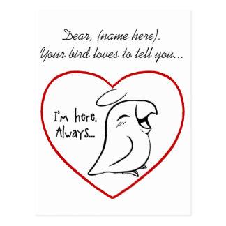 Always in my heart postcard