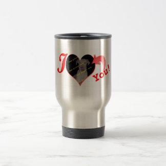 """Always in my heart"" Valentine's Day Gift Travel Mug"