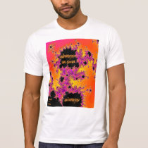 always in pain t-shirt- fractal design T-Shirt