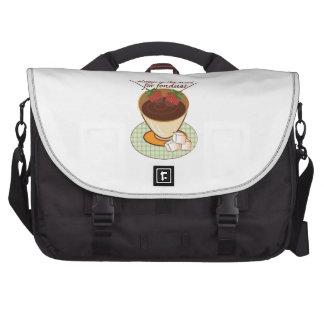 Always in the mood for fondue! laptop messenger bag