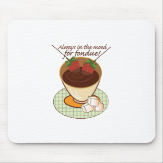 Always in the mood for fondue! mousepads